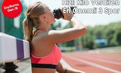 Hızlı Kilo Verdiren En Önemli 3 Spor