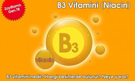 B3 Vitamini (Niacin)