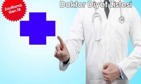 Doktor Diyet Listesi