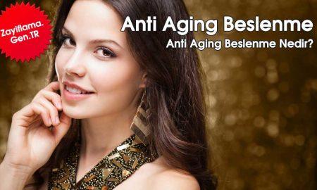 Anti Aging Beslenme