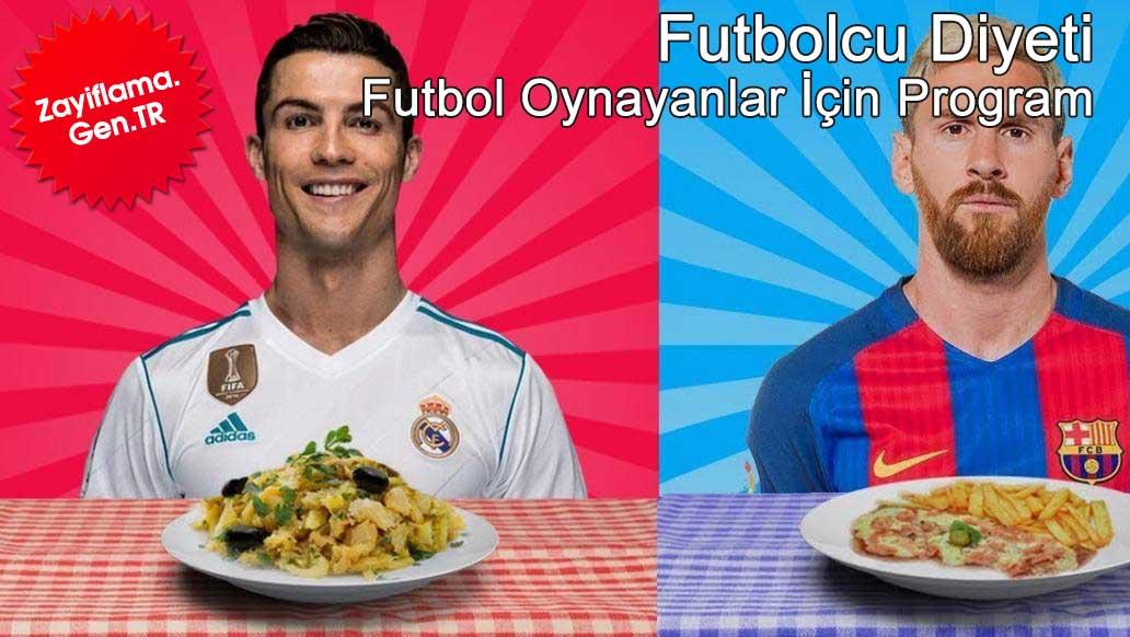Futbol Oynayanlar İçin Diyet Programı