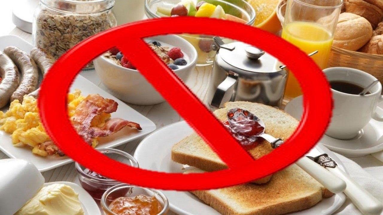 Kahvaltı da Yememeniz Gereken Besinler