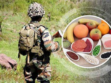 Asker Diyeti Listesi